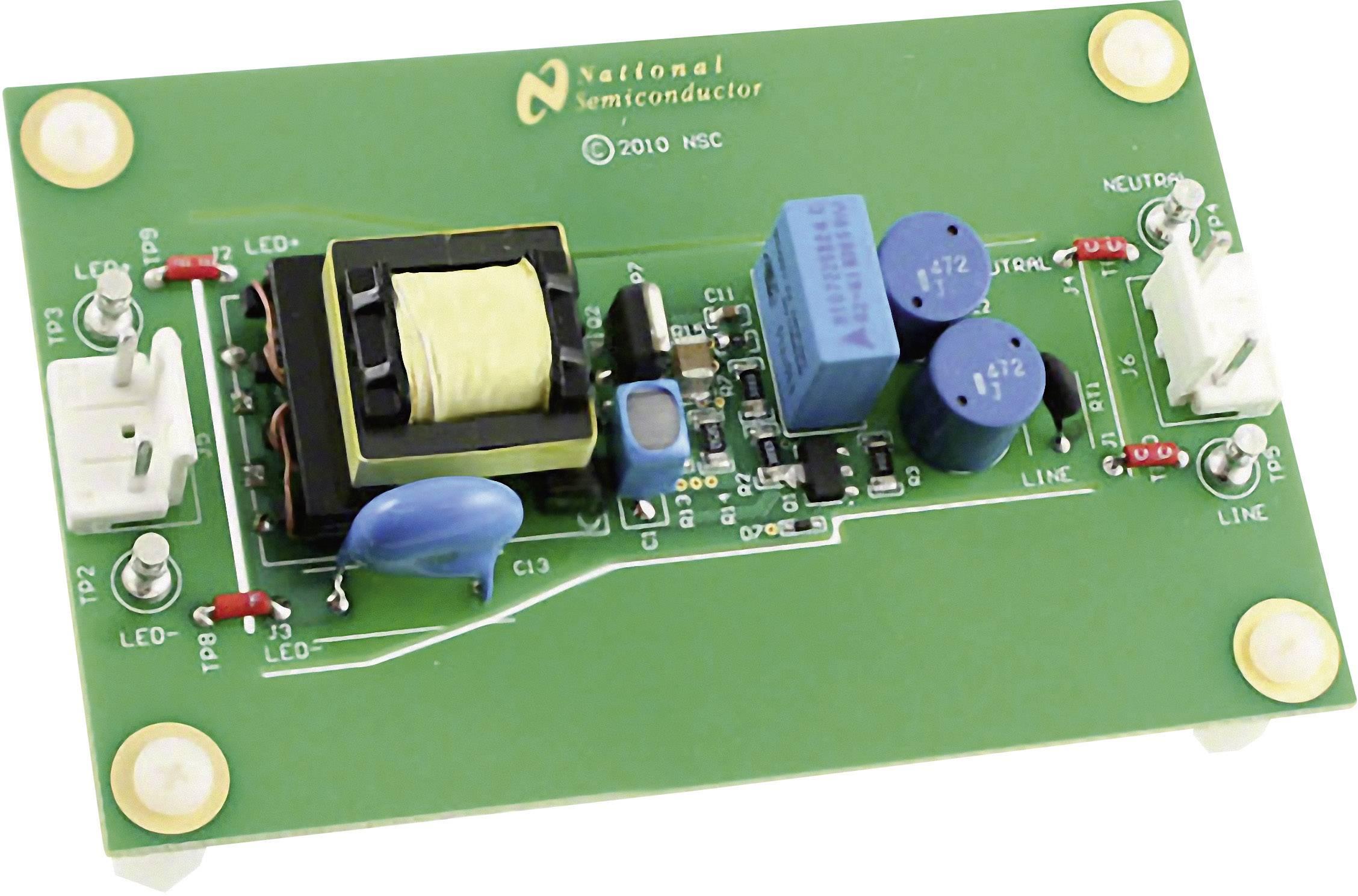 Vývojová doska Texas Instruments LM3444-120VFLBK/NOPB