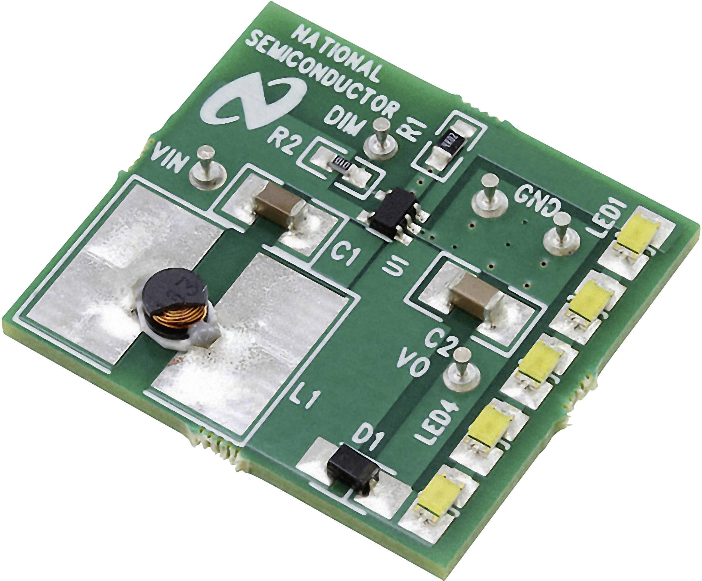 Vývojová doska Texas Instruments LM3410XMFLEDEV/NOPB