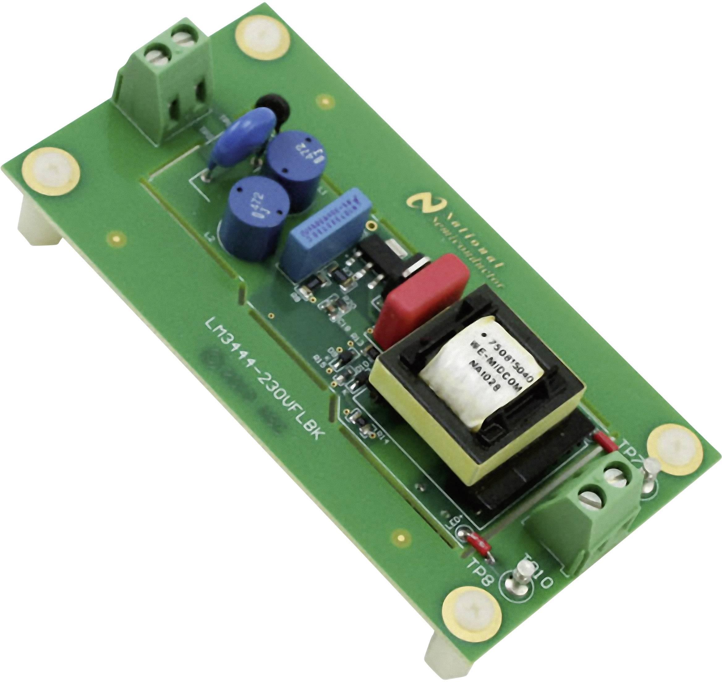 Vývojová doska Texas Instruments LM3444-230VFLBK/NOPB