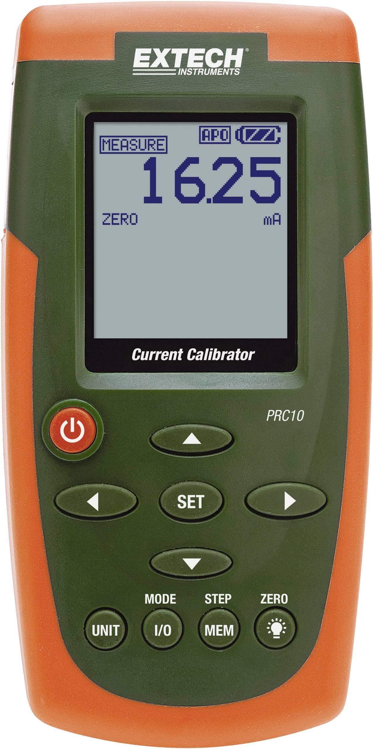 Extech PRC10 Kalibrator, Kalibrace do Kalibrováno dle ISO