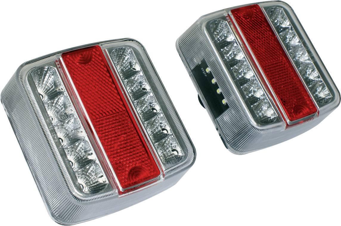 Sada zadných LED svetiel EAL, 10103, biela