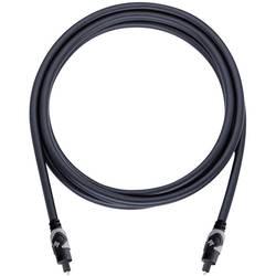 Toslink digitální audio kabel Oehlbach 133, 1.50 m, antracitová