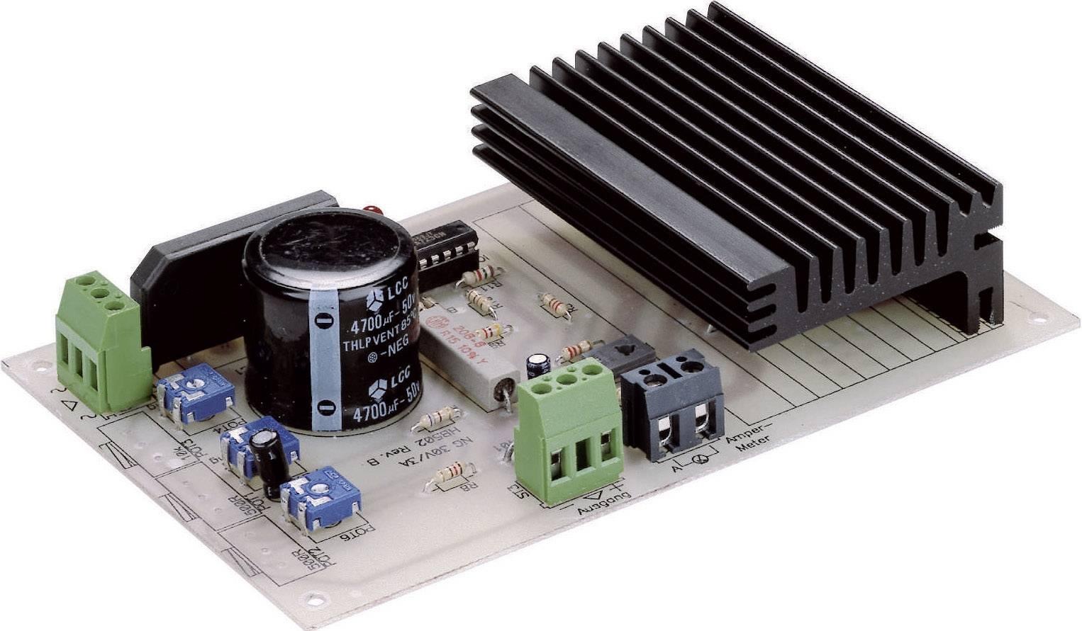 Univerzálny napájač 1-30 V/0-3 A