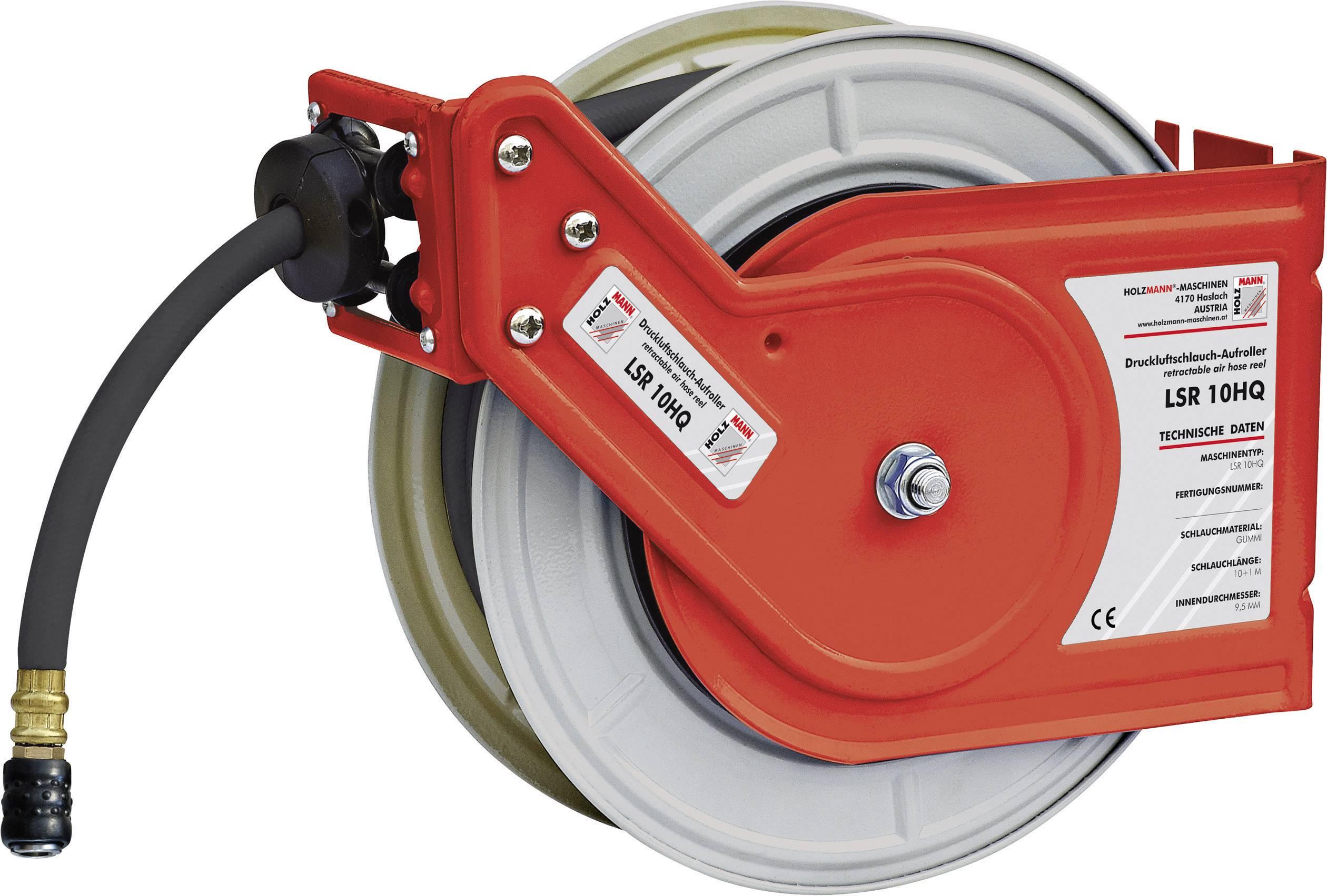 Navíjací bubon na tlakovú hadicu Holzmann Maschinen LSR10HQ H050400006, 10 m