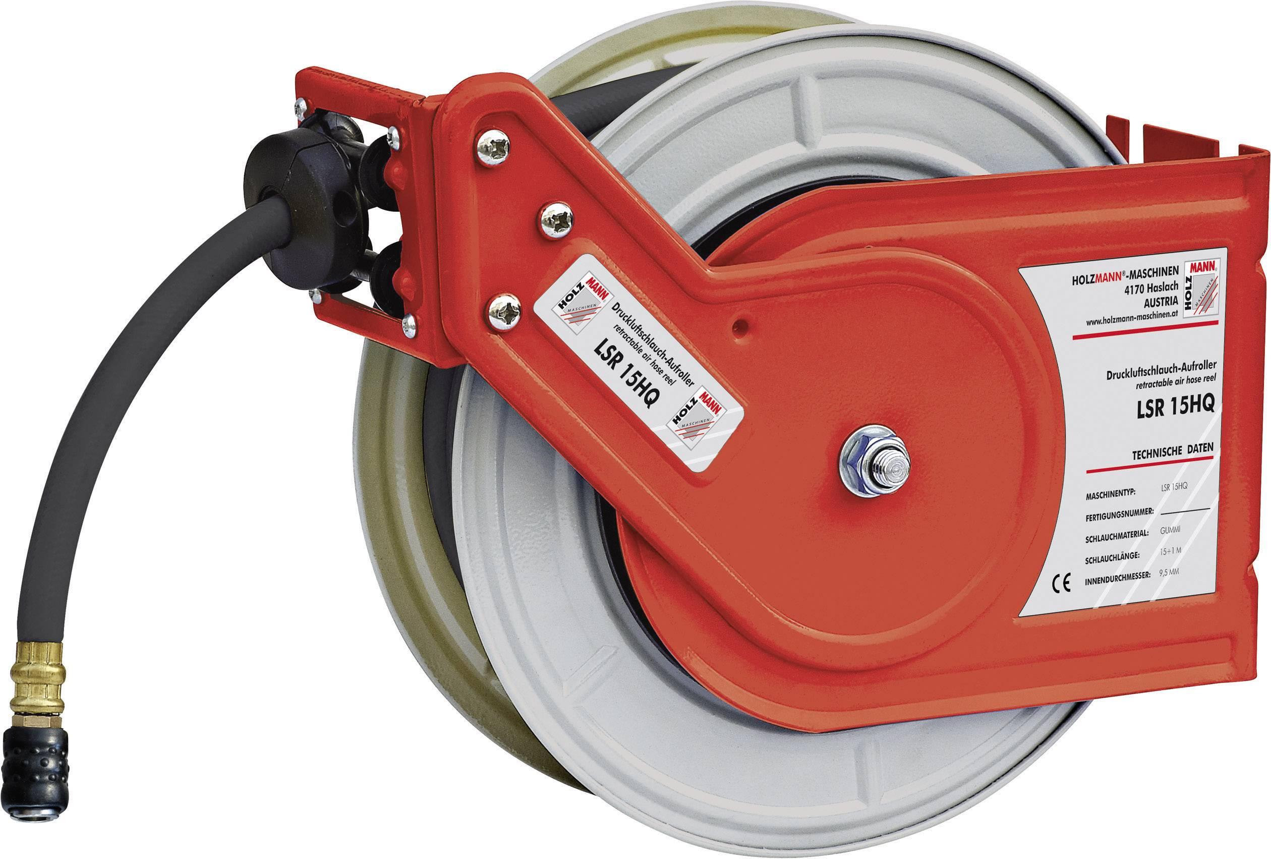 Navíjací bubon na tlakovú hadicu Holzmann Maschinen LSR15HQ H050400007, 15 m