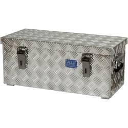 Box z rýhovaného hliníkového plechu Alutec 41037, (d x š x v) 622 x 275 x 270 mm