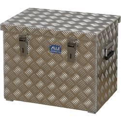 Box z rýhovaného hliníkového plechu Alutec 41070, (d x š x v) 522 x 375 x 420 mm