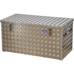 Box z rýhovaného hlínkového plechu Alutec R250 41250, (d x š x v) 1022 x 525 x 520 mm