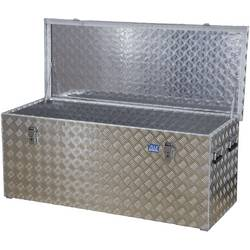 Box z rýhovaného hliníkového plechu Alutec 41312, (d x š x v) 1276 x 525 x 520 mm