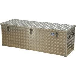 Box z rýhovaného hliníkového plechu Alutec 41375, (d x š x v) 1522 x 525 x 520 mm