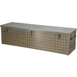 Box z rýhovaného hliníkového plechu Alutec 41470, (d x š x v) 1896 x 525 x 520 mm