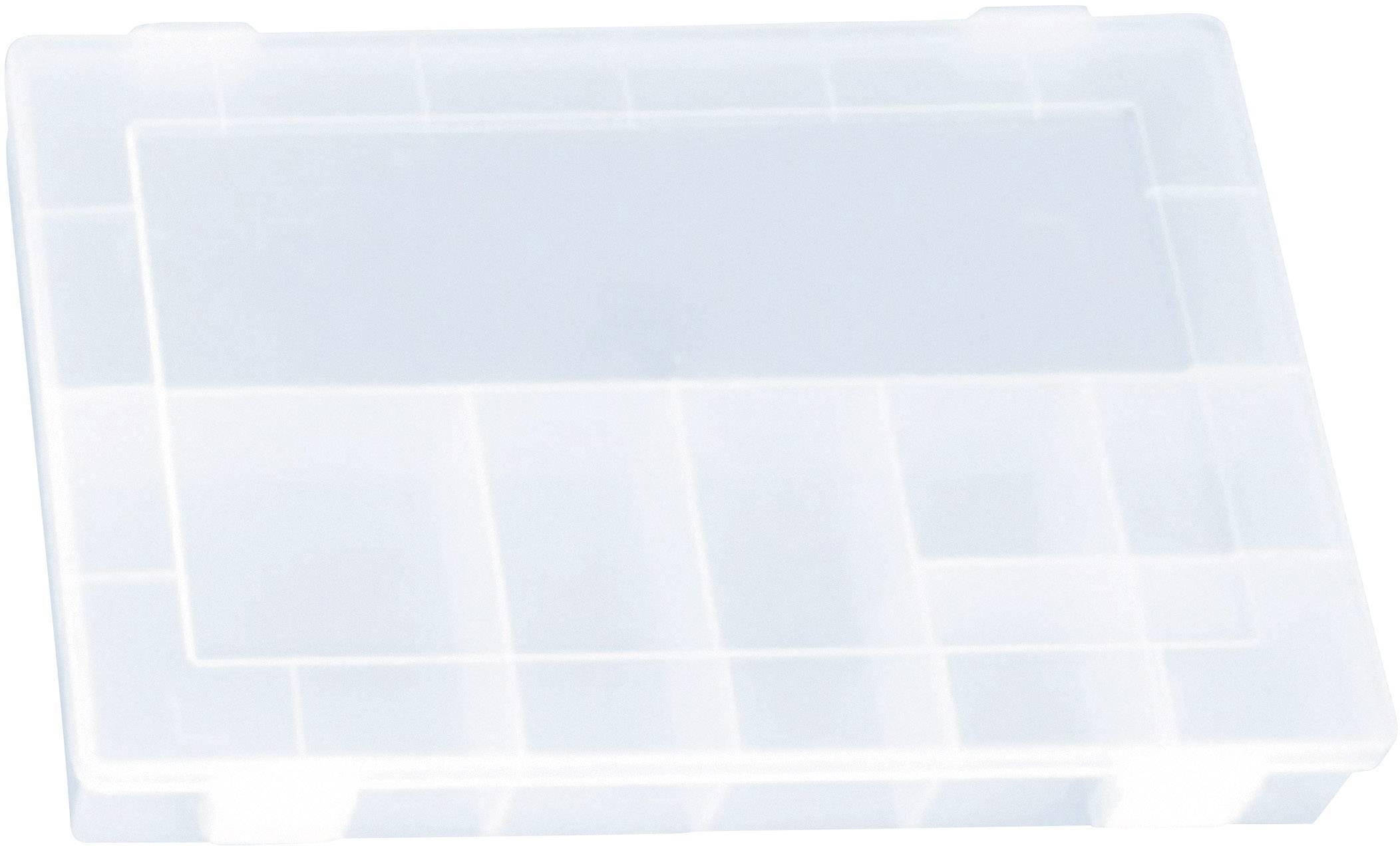 Box na součástky Alutec 611300, transparentní