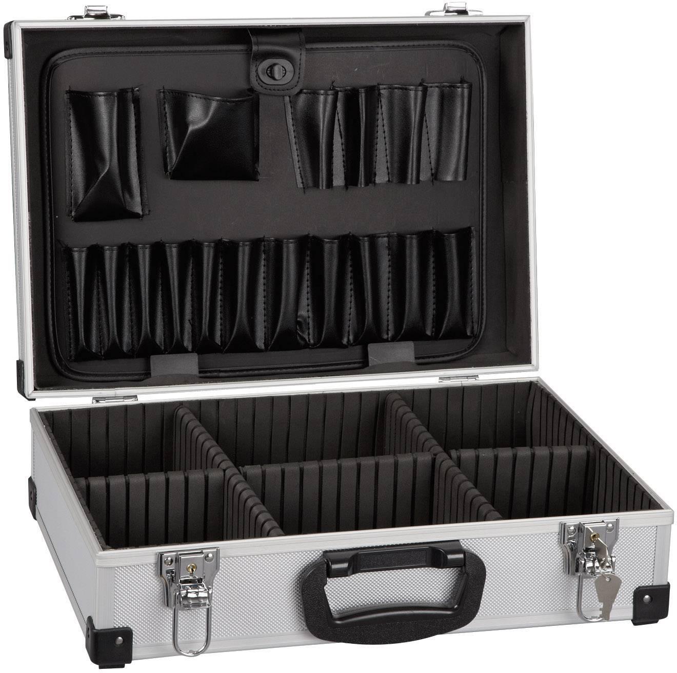 Hliníkový kufr na nářadí Alutec 61000, 430 x 295 x 132 mm