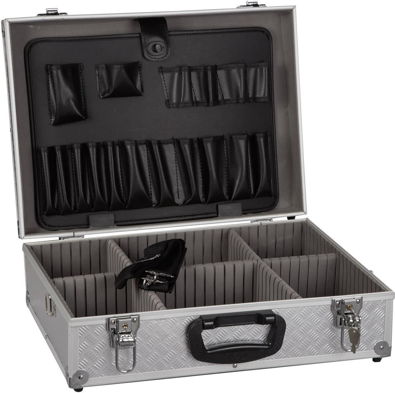 Hliníkový kufr na nářadí Alutec 61300, 460 x 330 x 150 mm