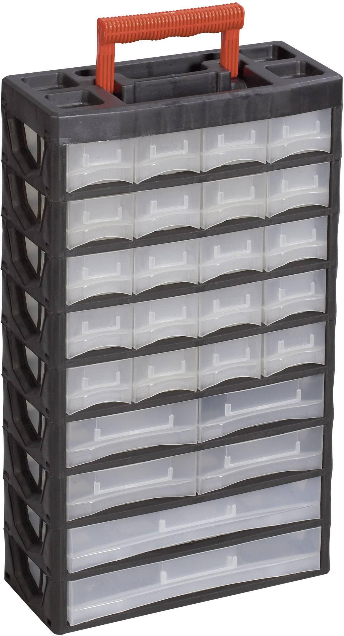 Organizér na drobné náradie Alutec 56675, 315 x 140 x 565 mm
