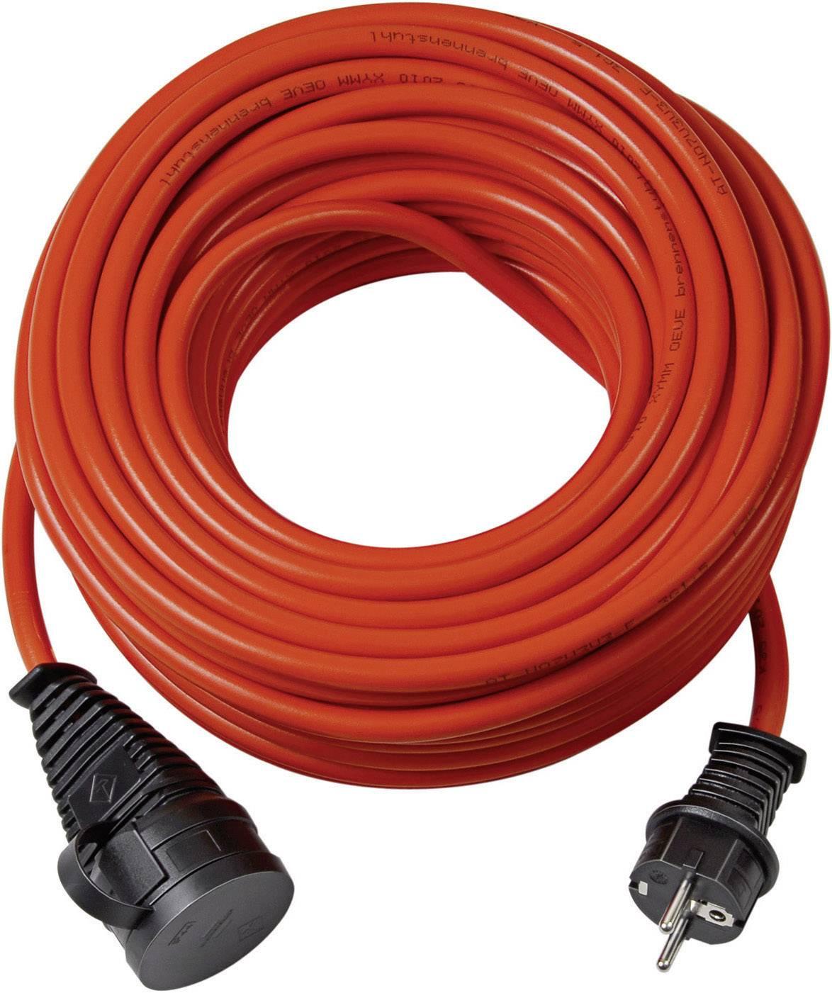 Napájecí prodlužovací kabel venkovní Brennenstuhl 1161760, IP44, oranžová, 20 m