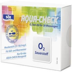 Söll 15634 Testování obsahu kyslíku 30 testů pro fotometr AQUA CHECK 2