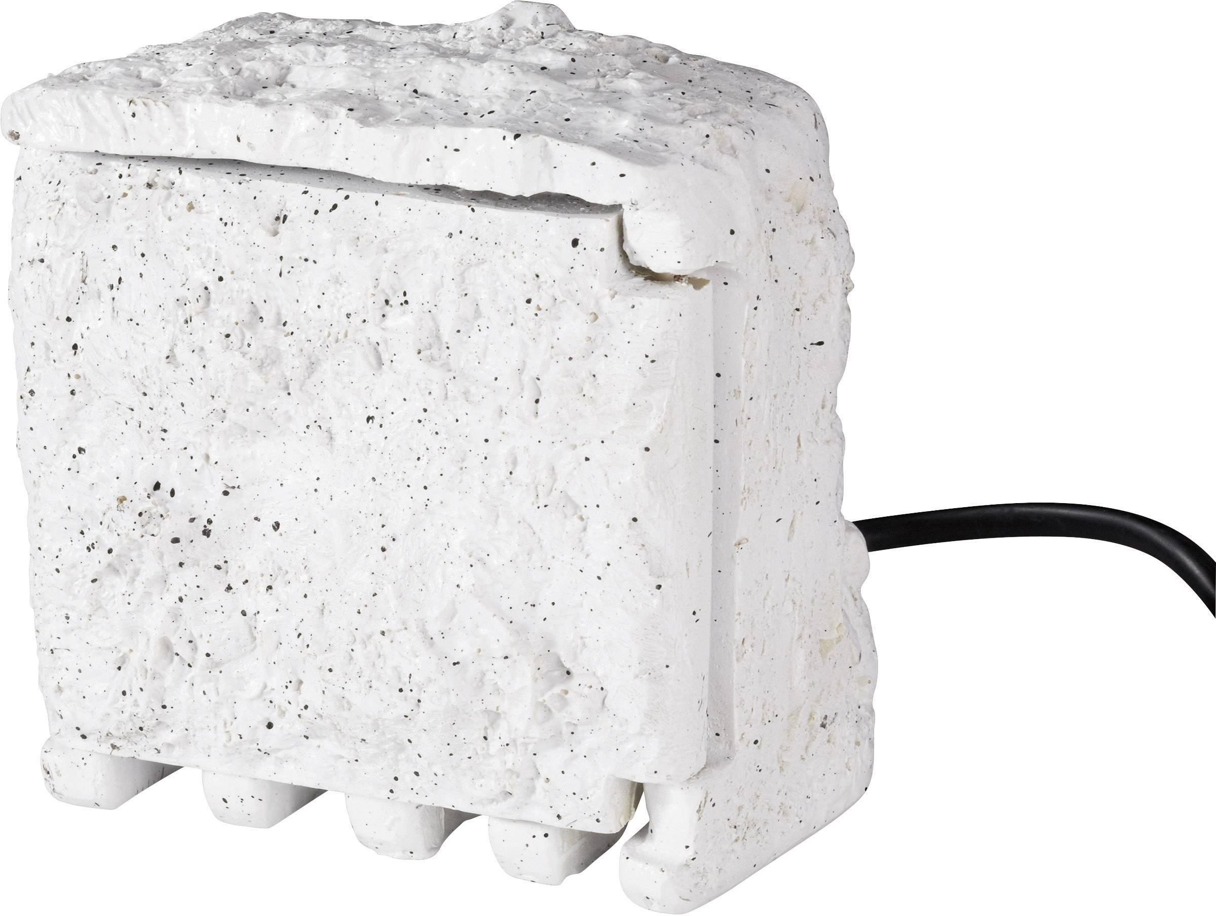 Záhradná zásuvka Renkforce, 4 zásuvky, sivá