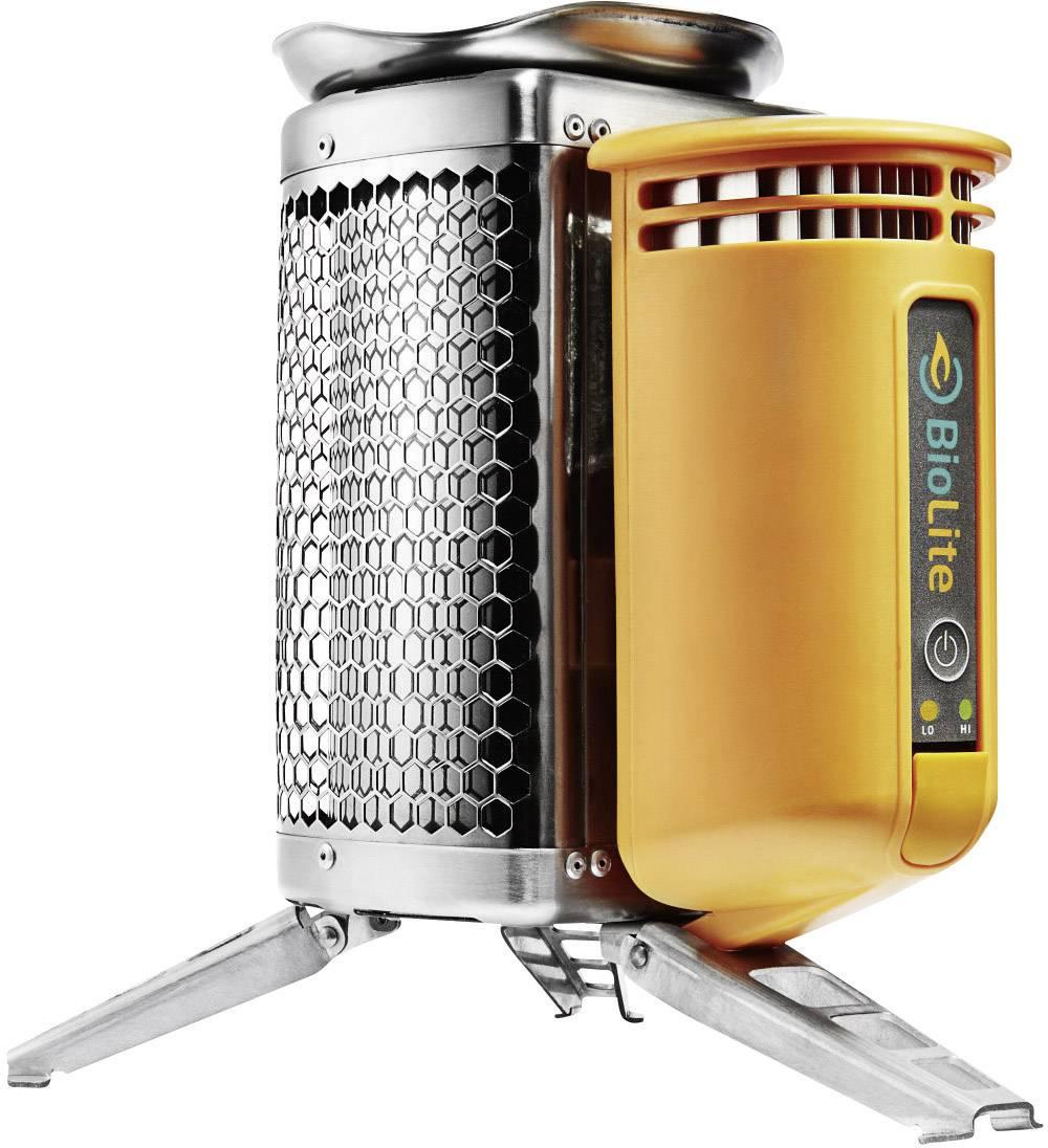 Kempingový varič BioLite CampStove BL-CSFL, ušľachtilá oceľ