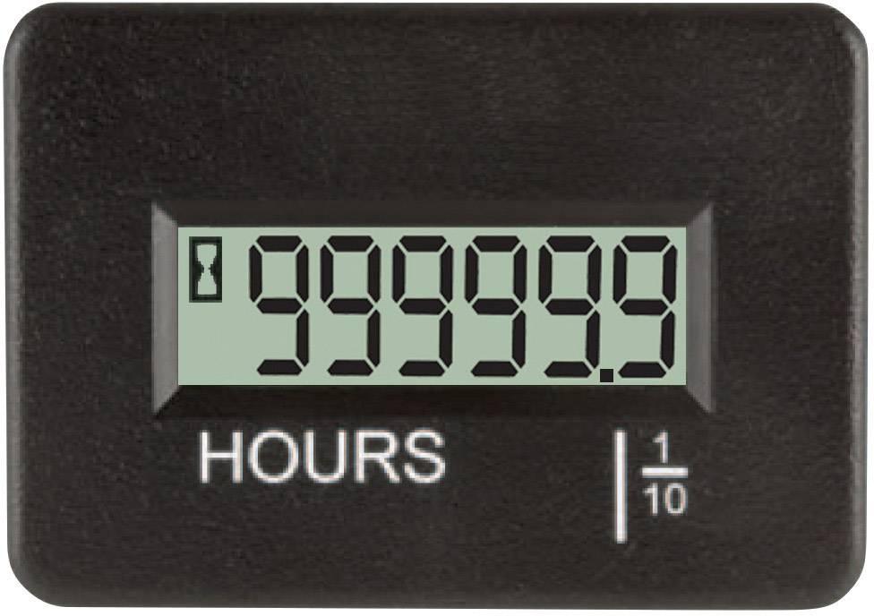 Počítadlo provozních hodin TDE Instruments DPH401-R 0,0 - 99999,9 h