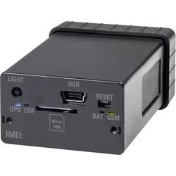 Mini GSM alarm s GPS lokátorom Renkforce GX-111 RF-3506043 multifunkčné lokátor, čierna