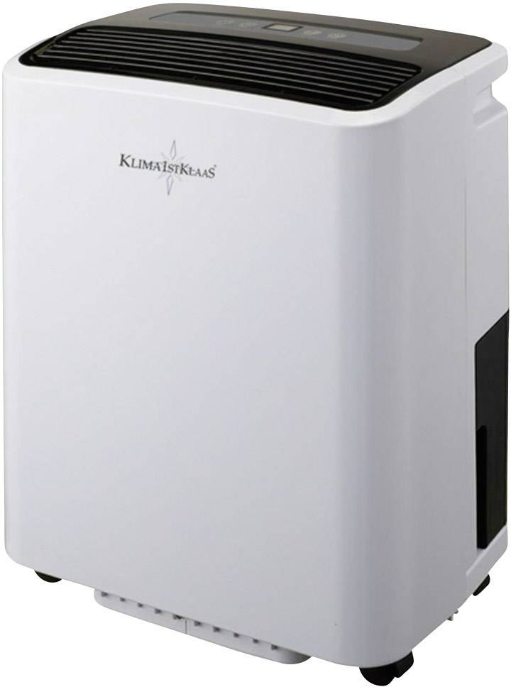 Odvlhčovač vzduchu Klima1stKlaas 6030, 680 W, 1.25 l/h, šedá, černá