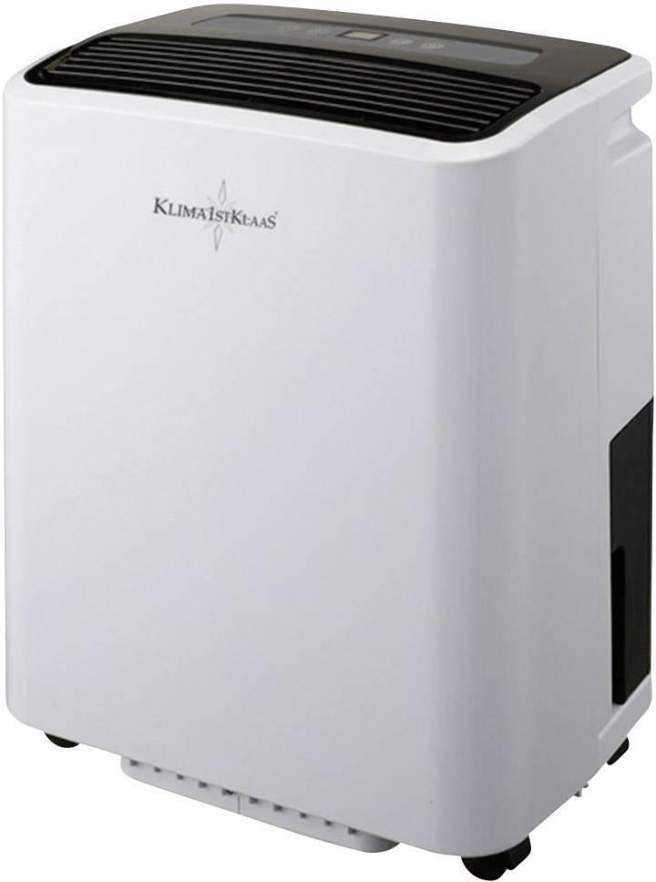 Odvlhčovač vzduchu Klima1stKlaas 6030, 680 W, 1.25 l/h, sivá, čierna