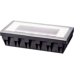 Vestavné solární osvětlení 0.6 W teplá bílá Paulmann Box 93775 stříbrnošedá