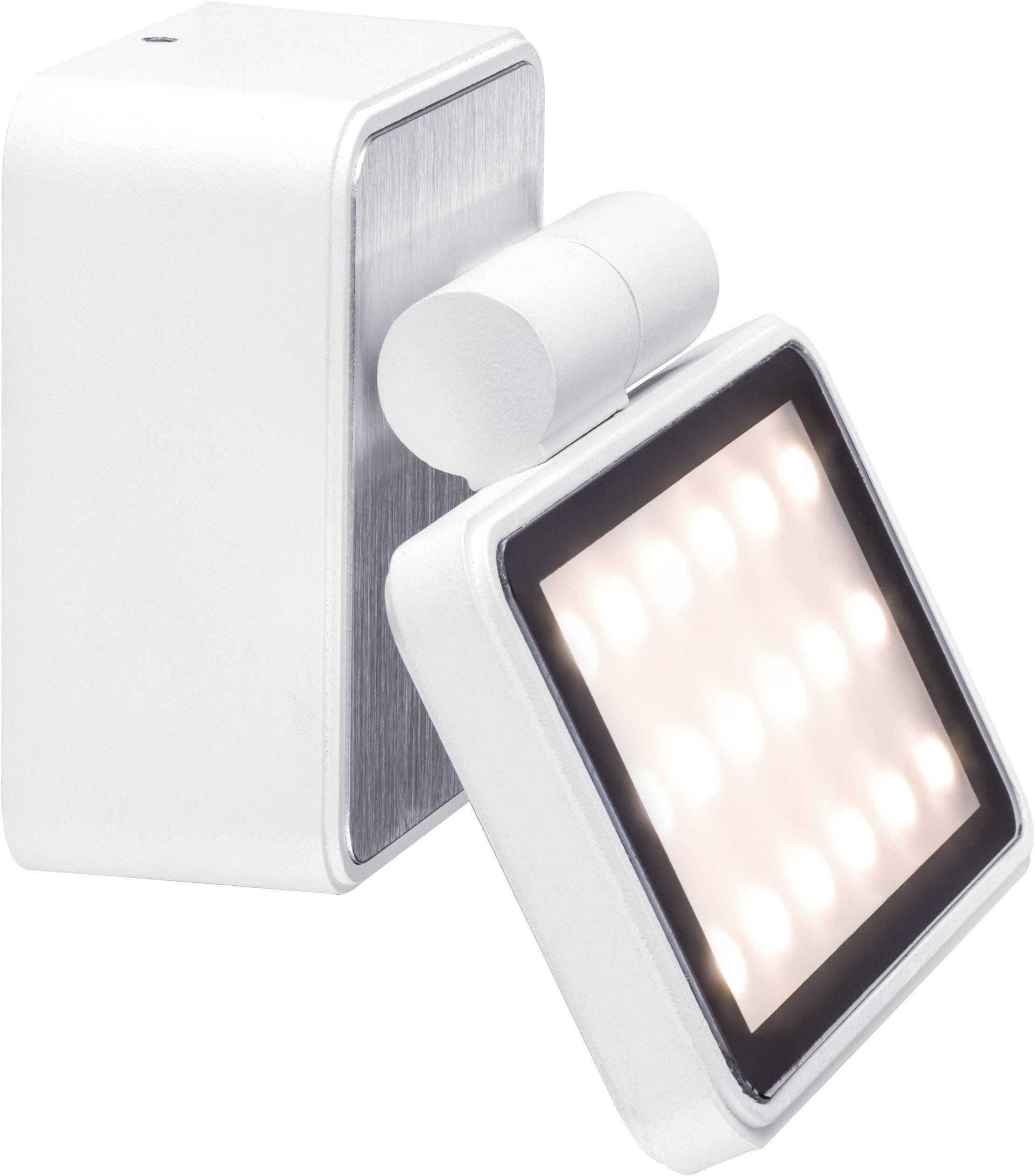 LEDvonkajšie nástennéosvetlenie 6.8 W teplá biela Paulmann Special Line Board 93781 biela (matná)