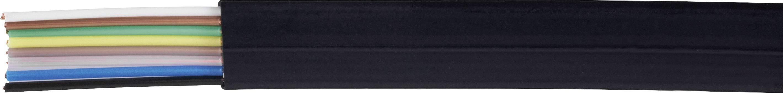 Telefónny kábel LiYY Kash 8 x 0.12 mm², čierna, metrový tovar