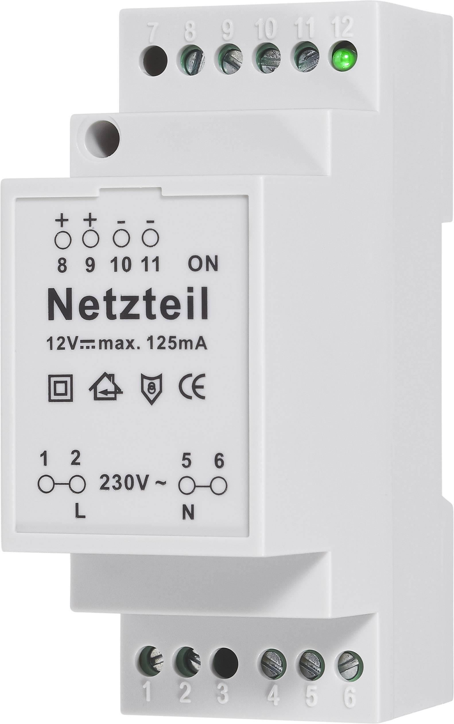Modul síťového zdroje 230 V/AC/12 V/DC