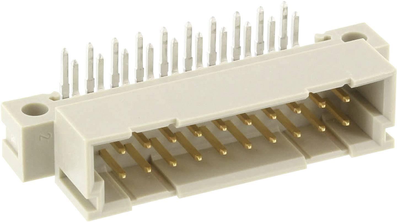 Měřicí lišta typ B/3 ERNI 384275, úhlová měřící lišta, 2,54 mm