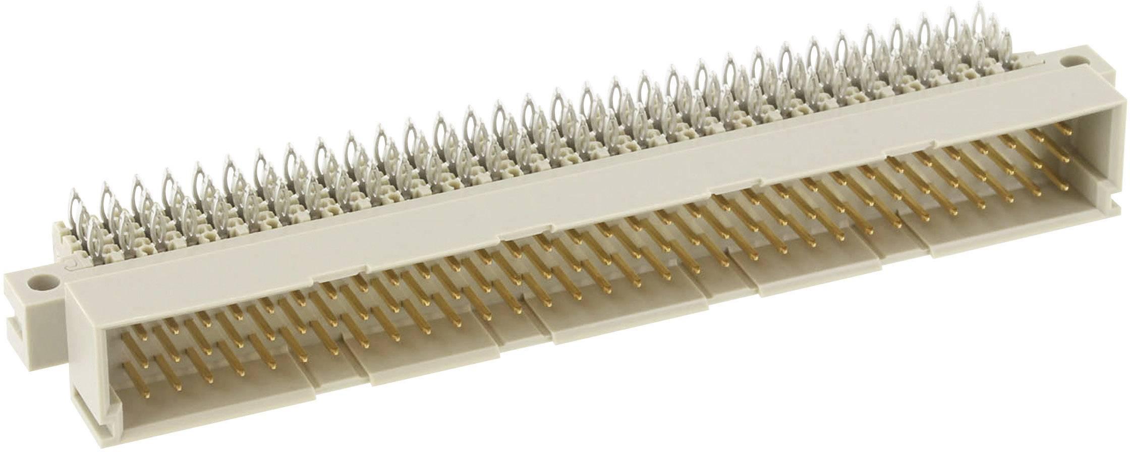 Měřicí lišta typ C ERNI 254835, úhlová měřící lišta, 2,54 mm