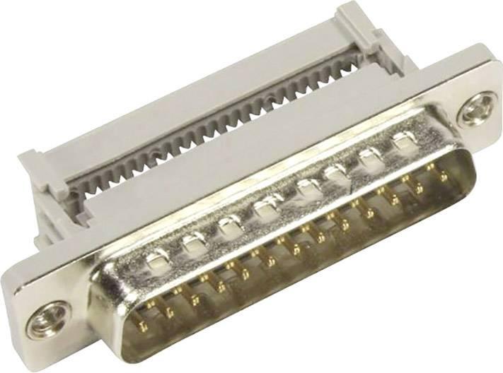 D-SUB zástrčka Harting 09 66 128 7700, 180 °, Počet pinov 9, IDC, 1 ks