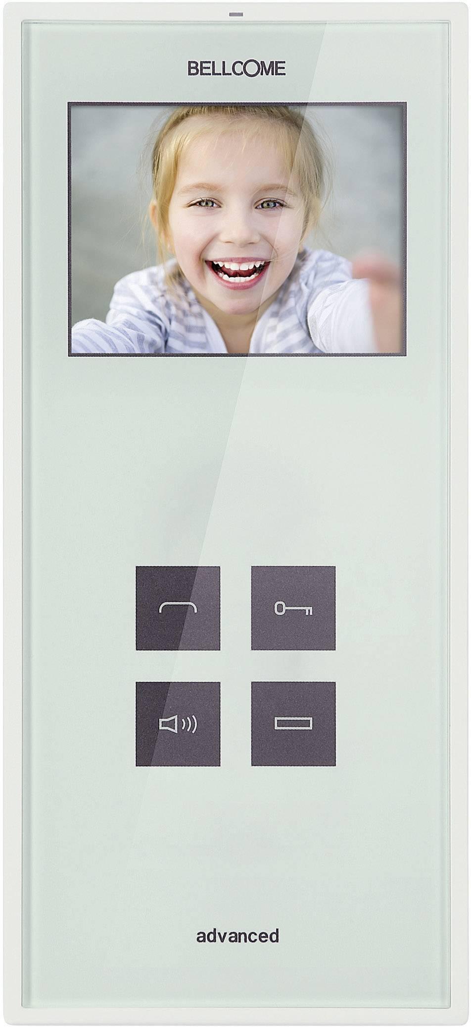 Káblový video dverový telefón Bellcome Advanced VTA.3Sx.BLW, biela