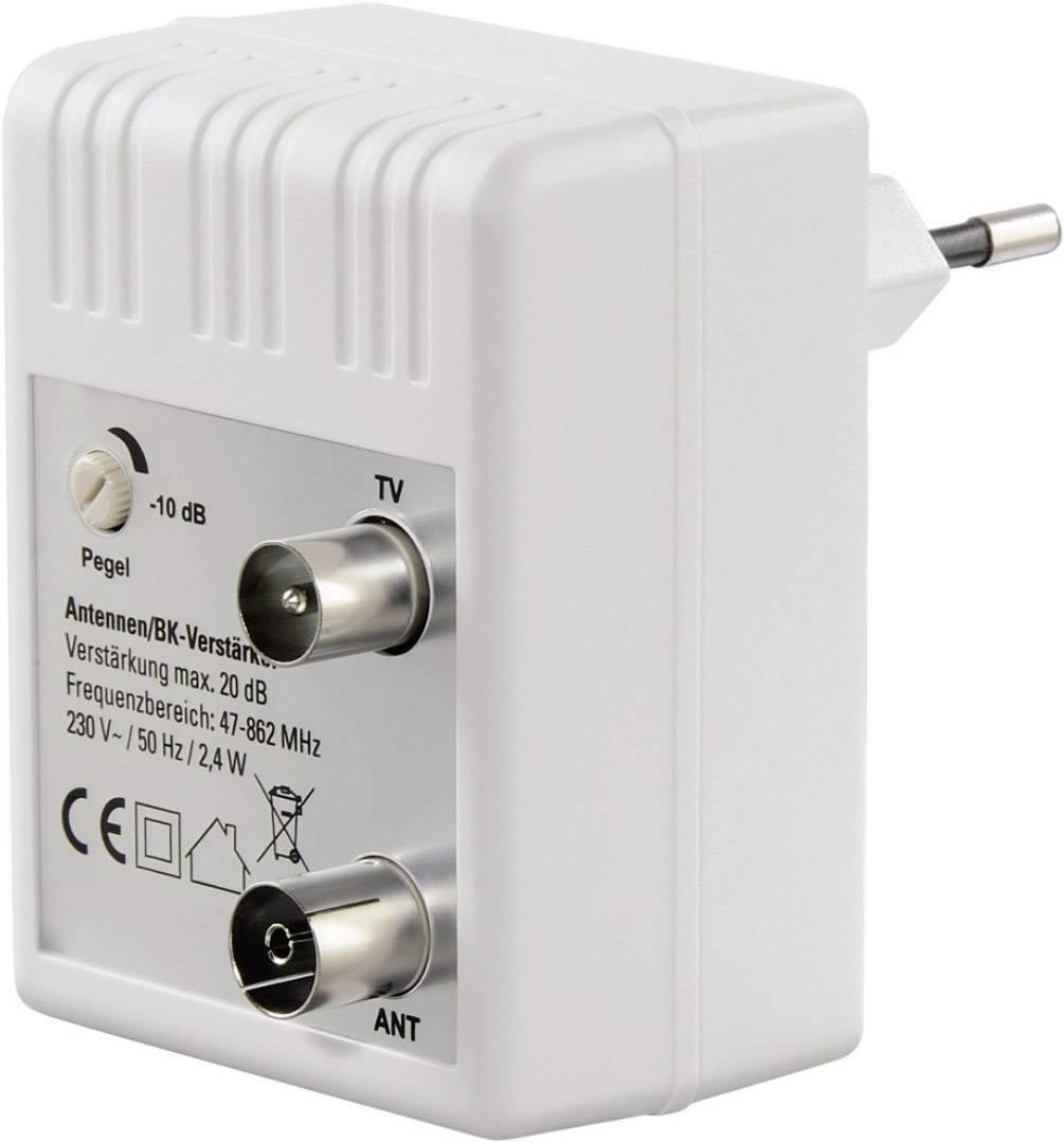 Anténní zesilovač, 20 dB, regulovatelný