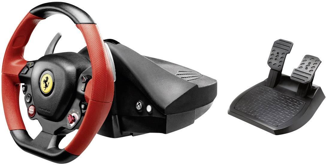 Volant Thrustmaster Ferrari 458 Spider Xbox One černá vč. pedálů