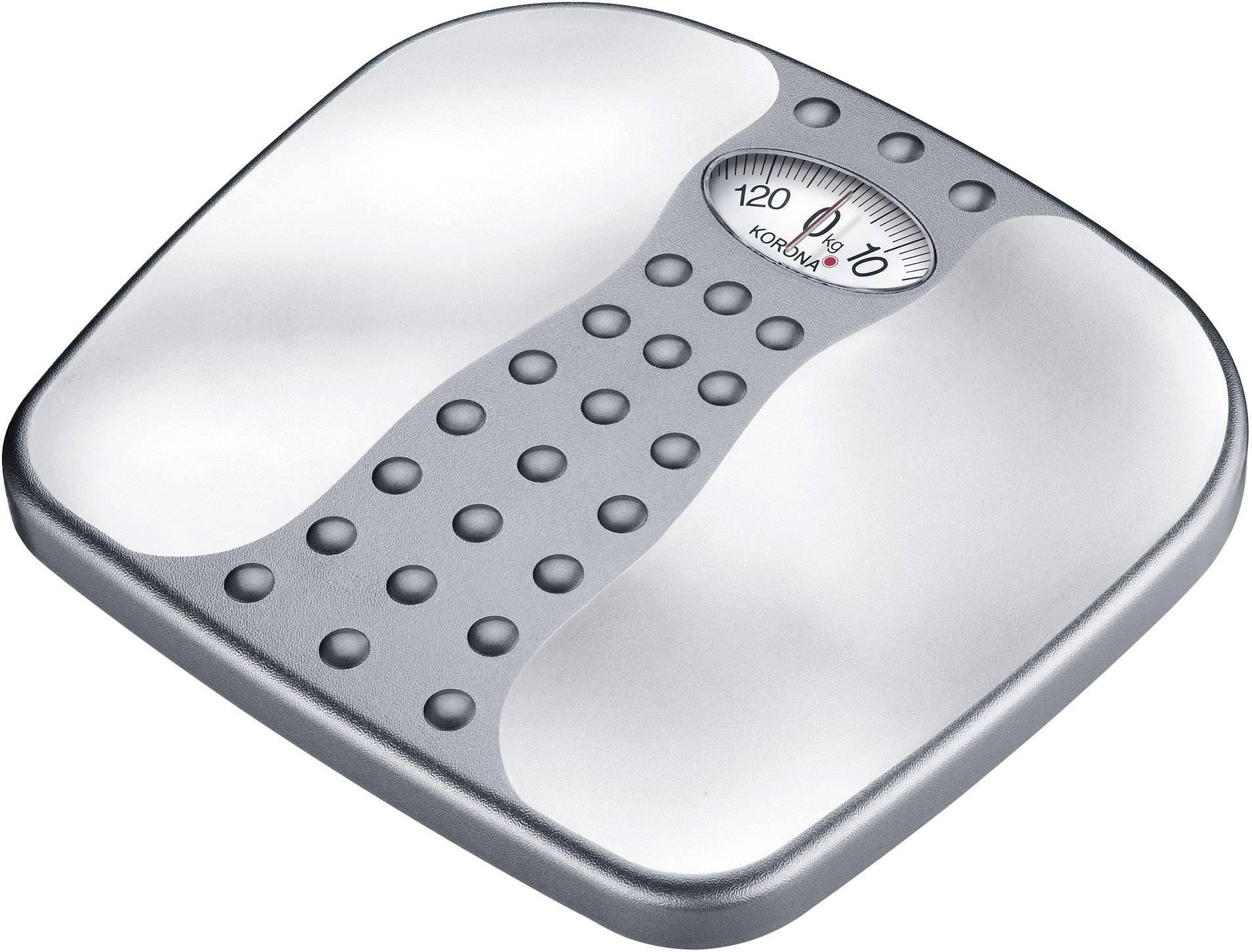 Osobní váha Korona Gero, 76711, stíbrná/šedá