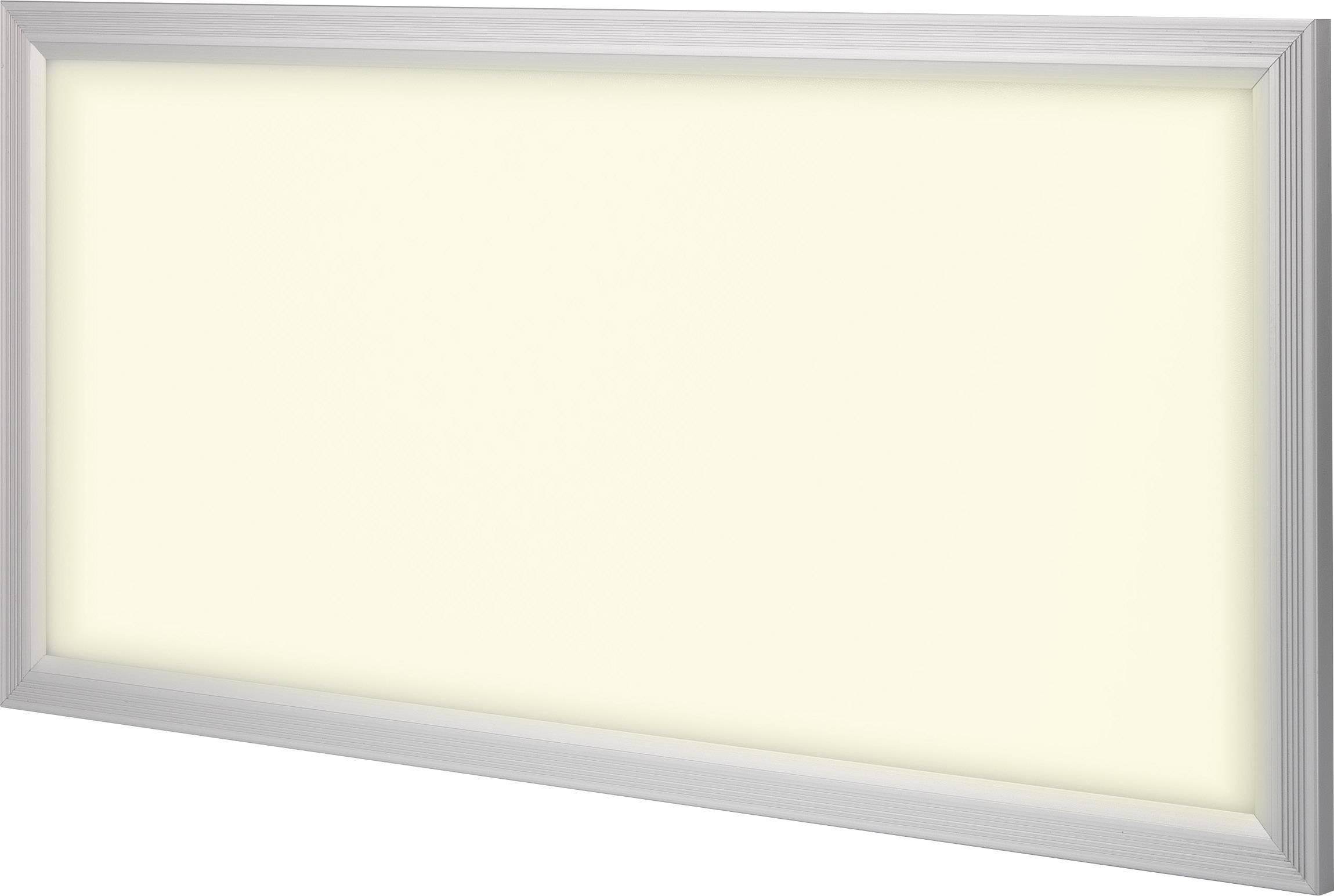 LED panel Renkforce Paterna 540c5 1170832, 36 W, teplá bílá, stříbrnošedá