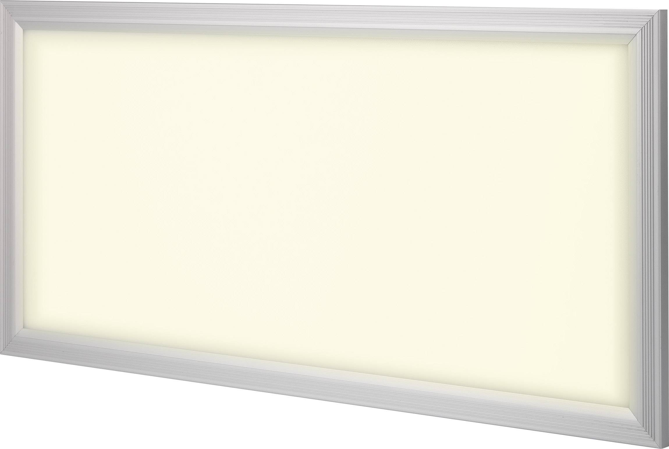 LED panel Renkforce Paterna 540c5 1170832, 36 W, teplá biela, striebornosivá