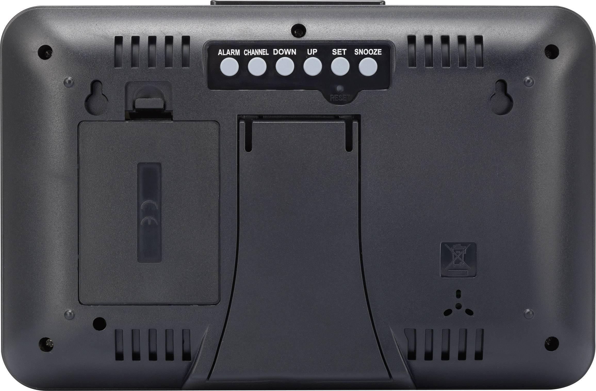 Digitální bezdrátová meteostanice Renkforce Max. dosah 30 m