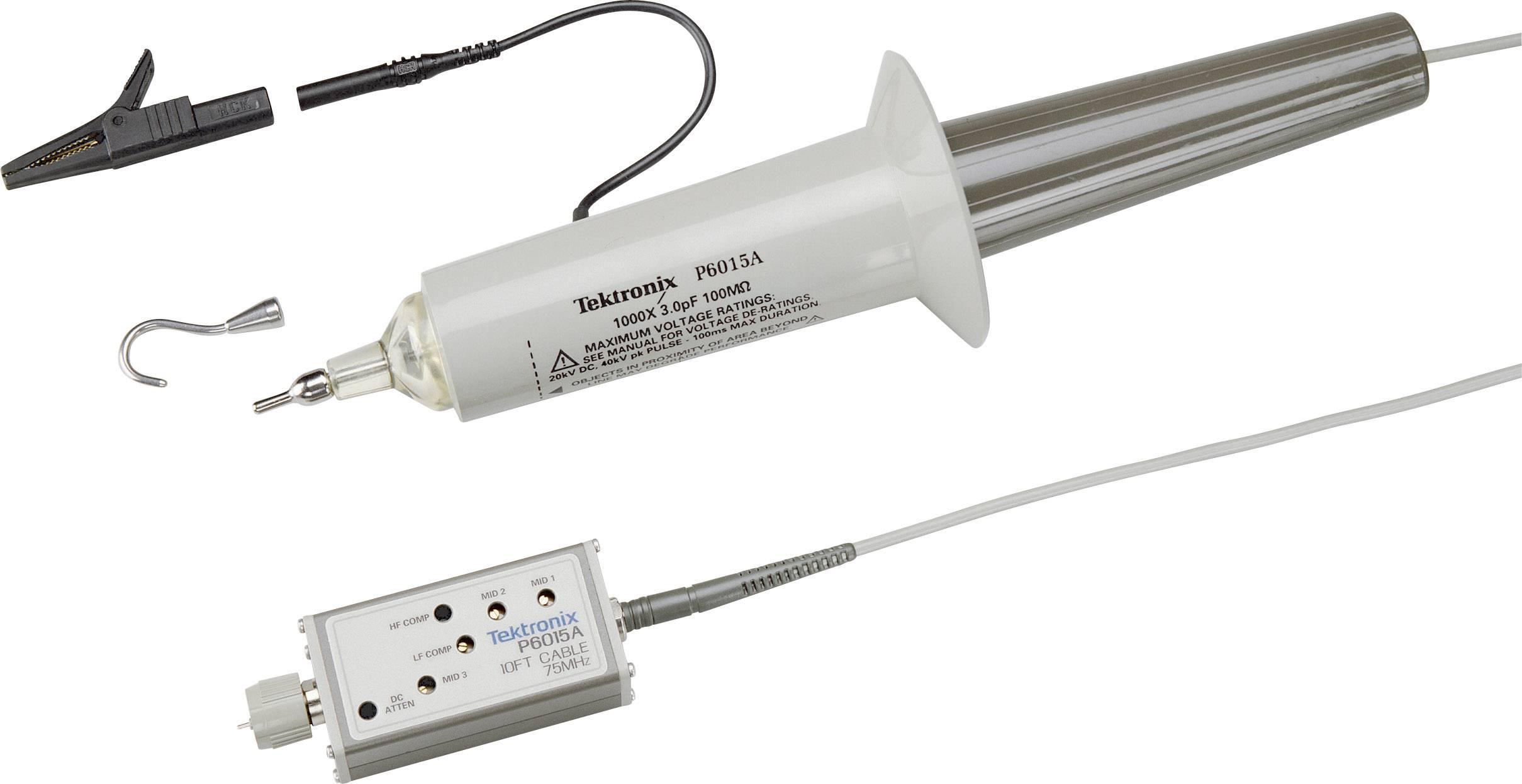 Měřicí sonda Tektronix P6015A, 75 MHz