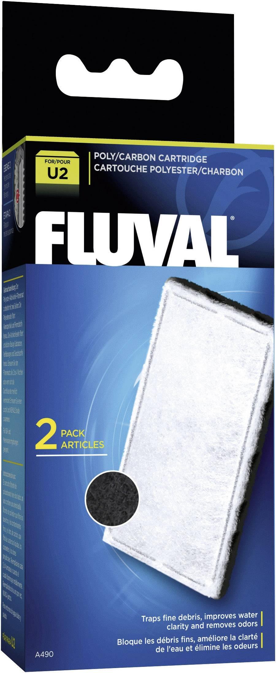 Akvarijní filtr s aktivní uhlíkovou vložkou U2 Fluval A490