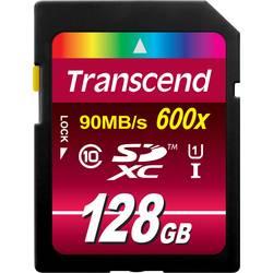 Paměťová karta SDXC, 128 GB, Transcend Ultimate TS128GSDXC10U1, Class 10, UHS-I