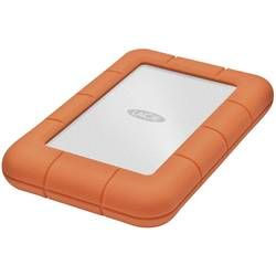 "Externí HDD 6,35 cm (2,5"") LaCie Rugged Mini, 2 TB, USB 3.2 Gen 1 (USB 3.0), stříbrná, oranžová"