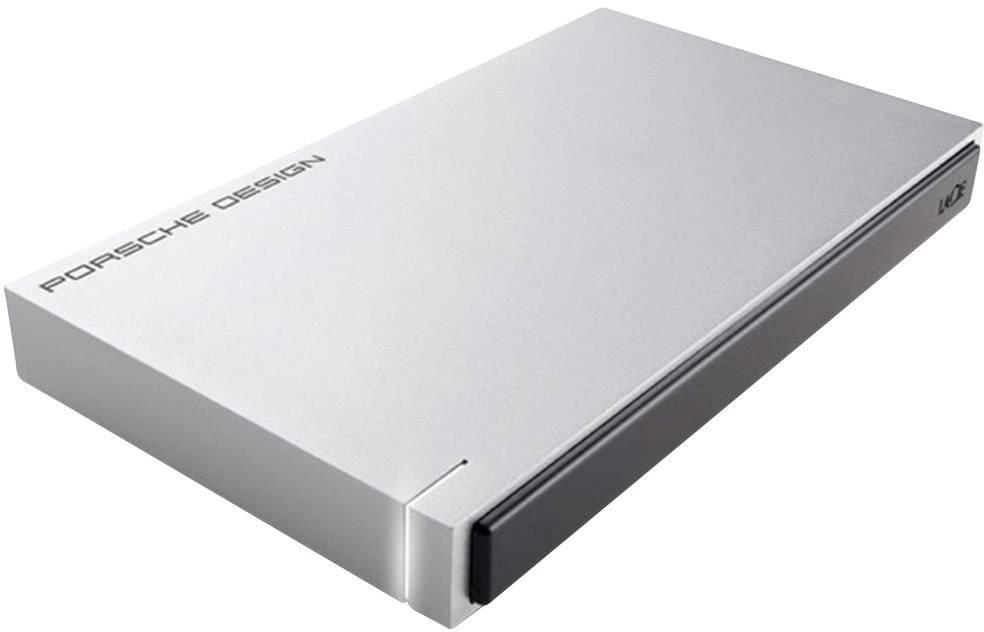 """Externí HDD 6,35 cm (2,5"""") recertifikace LaCie Porsche Design Mobile Drive, 2 TB, USB 3.0, světle šedá"""