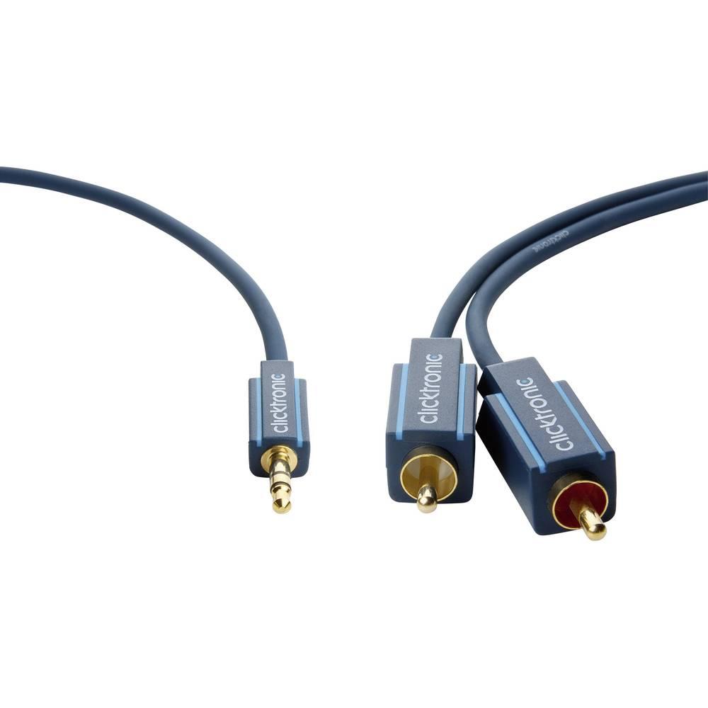 jack cinch audio kabel clicktronic 70467 2 m modr. Black Bedroom Furniture Sets. Home Design Ideas