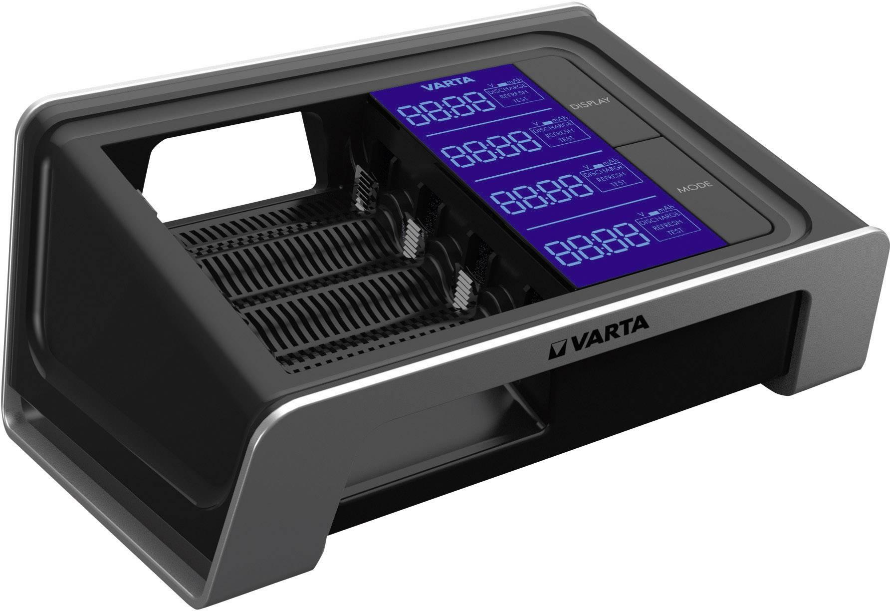 Nabíječka Varta LCD Ultra fast + 4x AA NiMH Ready2Use 2400 mAh