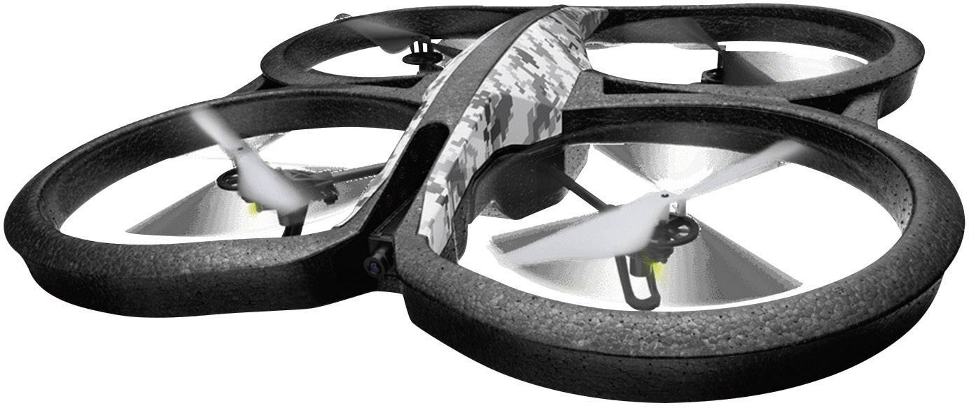 Kvadrokoptéra Parrot AR.Drone 2.0 ELITE EDITION Snow, RtF, s kamerou