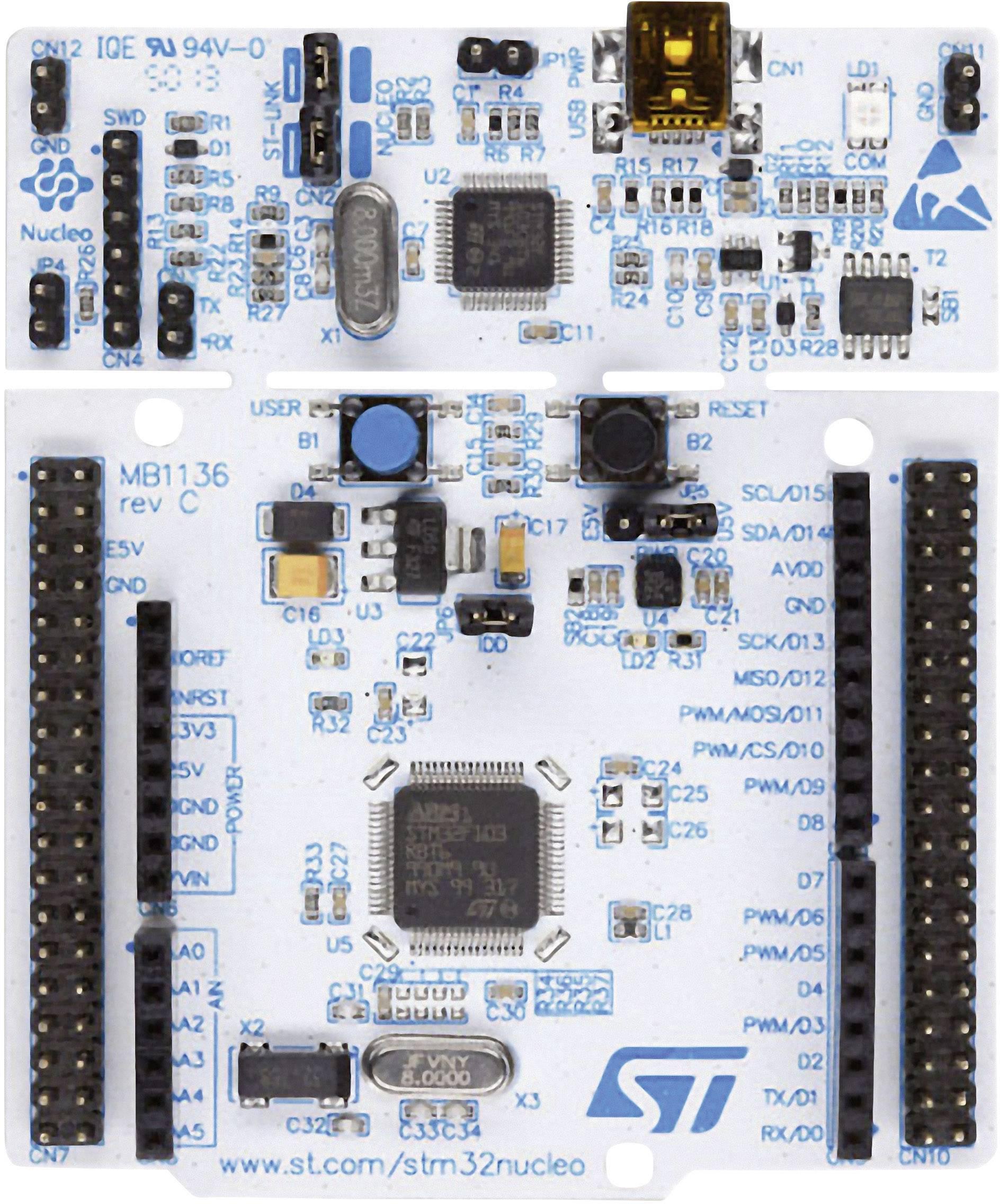 Vývojová deska pro STM32 L1 STMicroelectronics NUCLEO-F103RB